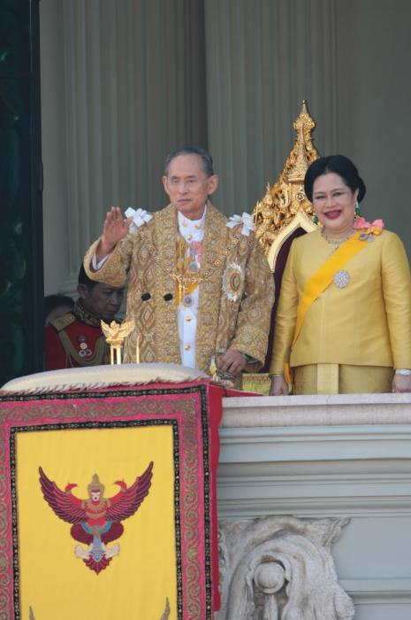 King bhumibol and queen sirikit of thailand (2787195604)