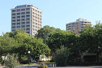 Kingston, Australian Capital Territory - High rises flats in Kingston