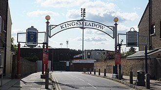 Kingstonian F.C. - Kingstonian's former home, Kingsmeadow