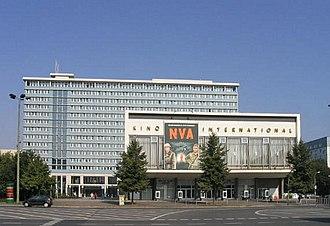 Kino International - Image: Kino International Berlin