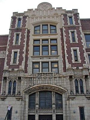 West Oak Lane, Philadelphia - Building 21 High School, September 2017