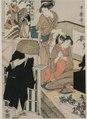 Kitagawa Utamaro - Chushingura- Act IX of The Storehouse of Loyalty - 1921.357 - Cleveland Museum of Art.tif
