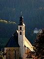 Kitzbühel. Blick vom Hornweg auf die Stadtpfarrkirche St. Andreas.jpg