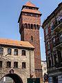 Kluczbork - wieża Bramy Krakowskiej.jpg