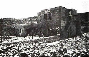 Yechezkel Sarna - Knesses Yisrael yeshiva Hebron, 1911