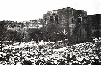 Hebron Yeshiva - The Hebron Yeshiva, Knesses Yisrael, 1911.