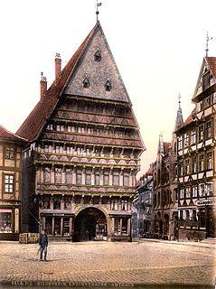 Butchers Guild Hall, Hildesheim