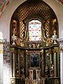 Kościół, ob. par. pw. św. Jana Ewangelisty, 2 poł. XI, XIII-XVI-XVIII wnętrze (9).JPG