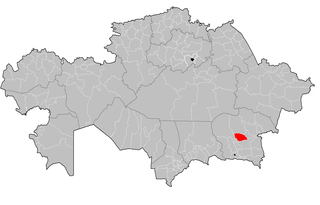 Koksu District District in Almaty Region, Kazakhstan