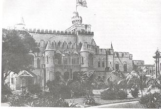 Pathuriaghata - Tagore Castle in 1907