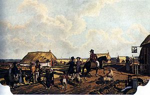 Society of Humanitarianism - Colonists in Willemsoord.