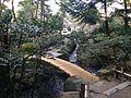 Komonbashi Bridge in Kenroku Garden.JPG