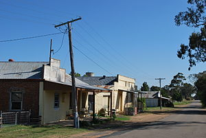 Koorawatha - Old shops at Koorawatha