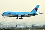 Korean Air, HL7613, Airbus A380-861 (46715953275).jpg