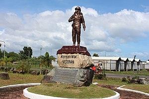 Andrews County Veterans Memorial - Image: Korean War