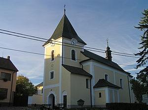 Heřmanov (Žďár nad Sázavou District) - Image: Kostel (Heřmanov) 2