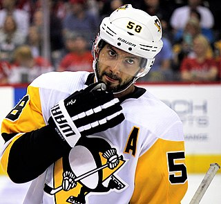 Kris Letang Canadian ice hockey player