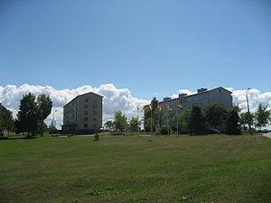 Kunda, Estonia - Image: Kunda, domy v centru