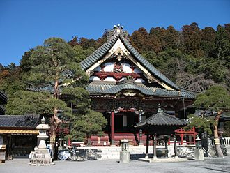 Nikkō Shōnin - The Kuon-Ji Temple of Mount Minobu, in Yamanashi Prefecture, where Nikkō formerly administered as its chief priest.