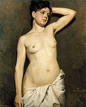 Female Nude, Study