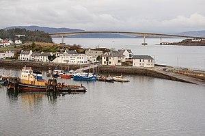 Kyleakin - Image: Kyleakin harbour