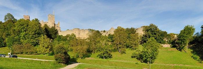 Lörrach - Burg Rötteln - Ansicht von Westen2.jpg