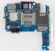 LG E455 Optimus L5 II Dual - upper printed circuit board-2342.jpg