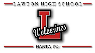 Lawton High School - Image: LHS Wolverine