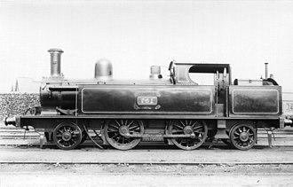 LNWR 4ft 6in Tank Class - No.761