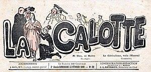 La Calotte - La Calotte (Marseille), No. 28, February 20, 1898.