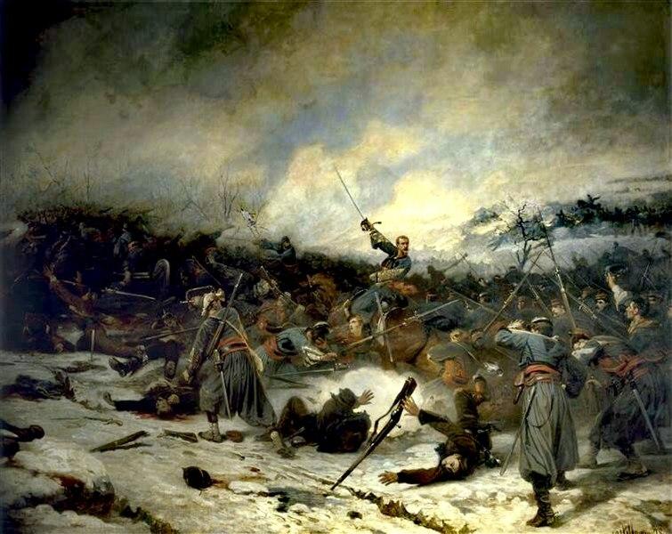 File:La bataille de Loigny C Castellani (1879).jpg