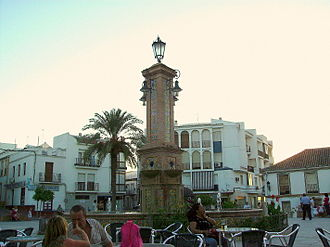 Villamartín - Square by the town hall