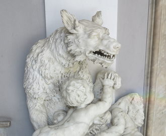 "She-wolf (Roman mythology) - ""The She-Wolf with Romulus and Remus"""