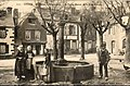 La place Stenfort à Gourin vers 1900.jpg