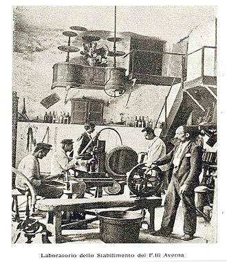 Amaro Averna - Fratelli Averna, Caltanisetta, 1911.