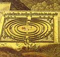 Labyrinth im Hortus Palatinus von Jacques Fouqueres vor 1620.jpg