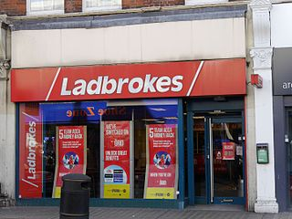 Ladbrokes Coral British-based betting and gambling company