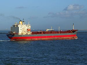 Lady Chiara p7 approaching Port of Rotterdam, Holland 29-Nov-2006.jpg