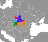 Lage Carpathian Euroregion
