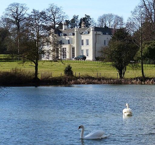 Lake next to Wistow Hall (geograph 4078299)