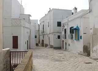 Castellaneta Comune in Apulia, Italy