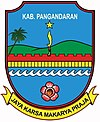 Official seal of Kabupaten Pangandaran