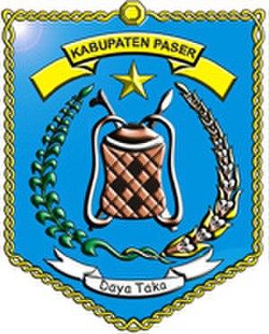 Paser Regency - Image: Lambang Kabupaten Paser