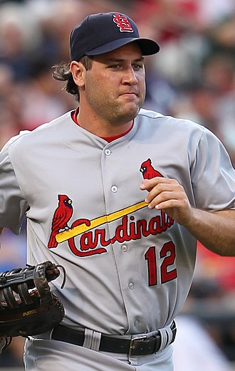 Lance Berkman - Berkman playing for the St. Louis Cardinals in 2011
