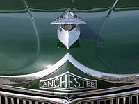 Lanchester LD 10 (1951) , Dutch licence registration UP-98-20 pic8.JPG