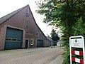 Landerd, Schaijk voorm. boerderij voor gemeentewerf Runstraat 59a met paneel.JPG