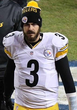 Landry Jones - Jones with the Pittsburgh Steelers in 2016