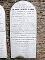 Lapide Jessie White-Mario, cimitero comunale (Lendinara).JPG