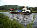 Large Barge on Caledonian Canal - geograph.org.uk - 1396849.jpg