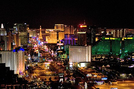 Las Vegas, Nevada saw the birth of the competition during FIFA's Executive Committee in December 1993. Las Vegas 89.jpg
